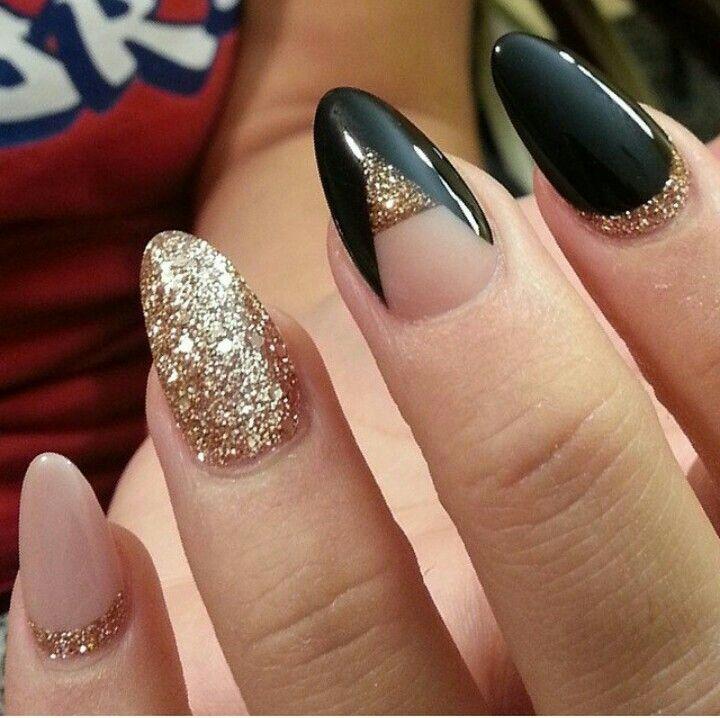 Дизайн ногтей на миндальной форме